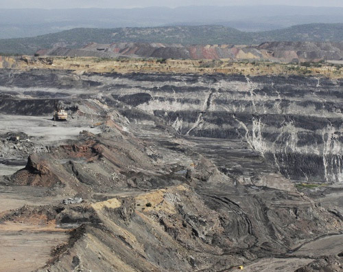 Aktion:Stoppt gewaltsame Vertreibung durch schmutzige Kohle