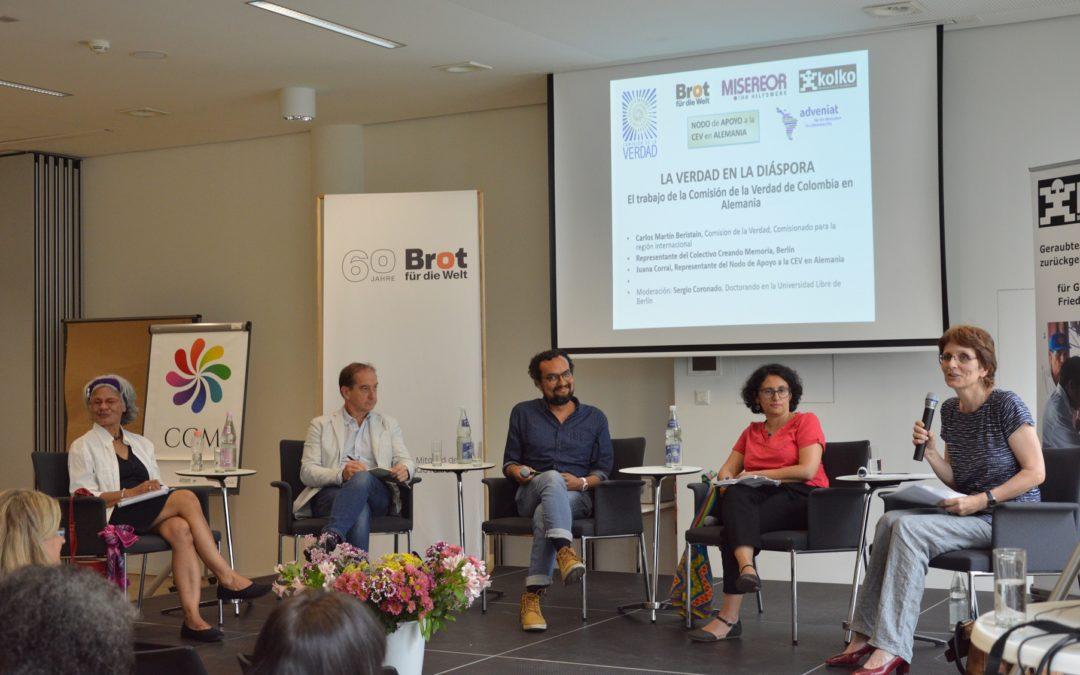 Ver Video de: Presentación del trabajo de la Comisión de la Verdad en Alemania con Comisionado Carlos Beristain