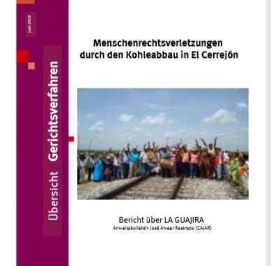 Gerichtsurteile zum Kohletagebau Cerrejón / Misereor-Kampagne  Kohlestopp Global! (Juni 2019)