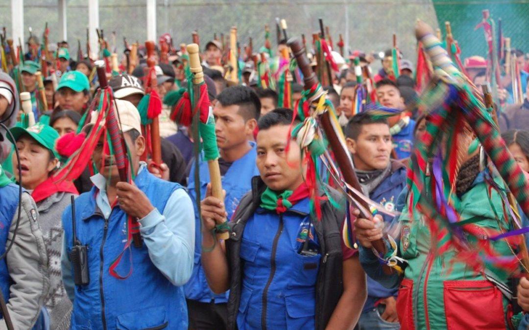 Indigenen Selbstschutz im Cauca: Guardia Indígena des CRIC (Video)