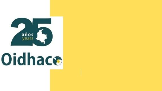 oidhaco: 25 years of commitment Europe – Colombia to human rights & peace