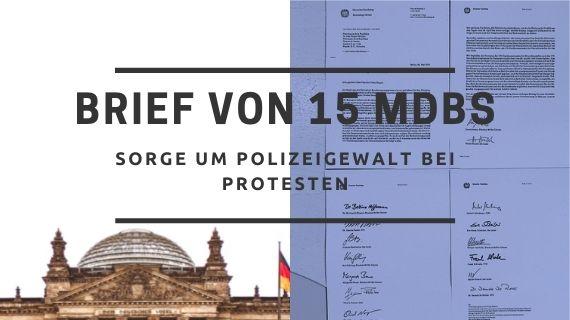 Brief von 15 MdBs an Präsident Duque – Sorge um Polizeigewalt bei Protesten