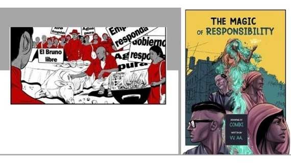 Bilingual Comic Book: The Magic of Responsibility