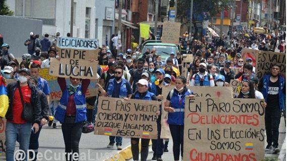 Militärische Antwort auf soziale Proteste in Kolumbien – Stellungnahme der MRKK