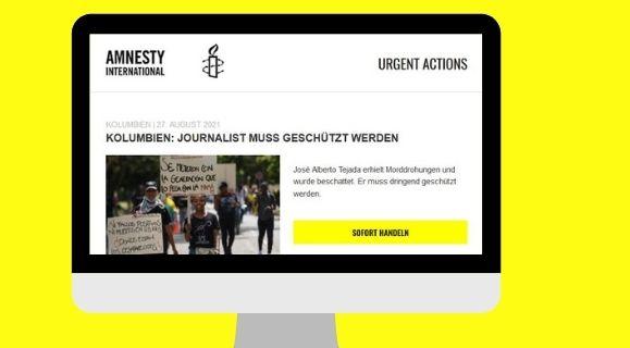 Eilaktion AI: Journalist José A. Tejada muss geschützt werden!