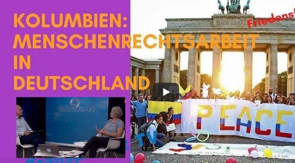 Menschenrechts-arbeit in Deutschland zu Kolumbien